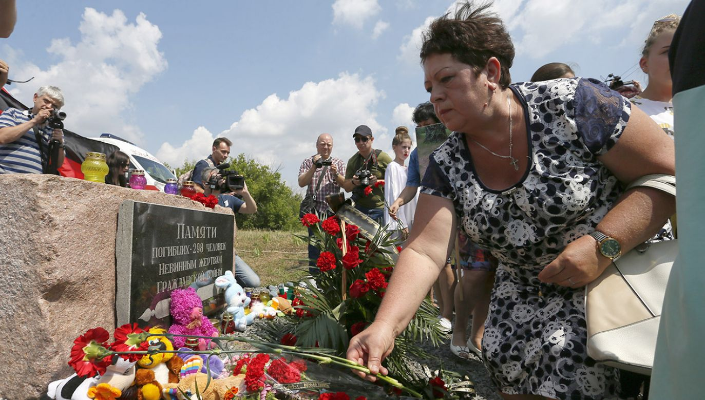 MSZ Ukrainy wezwało Rosję, by uznała swoją odpowiedzialność za zestrzelenie samolotu (fot. PAP/EPA/DAVE MUSTAINE)