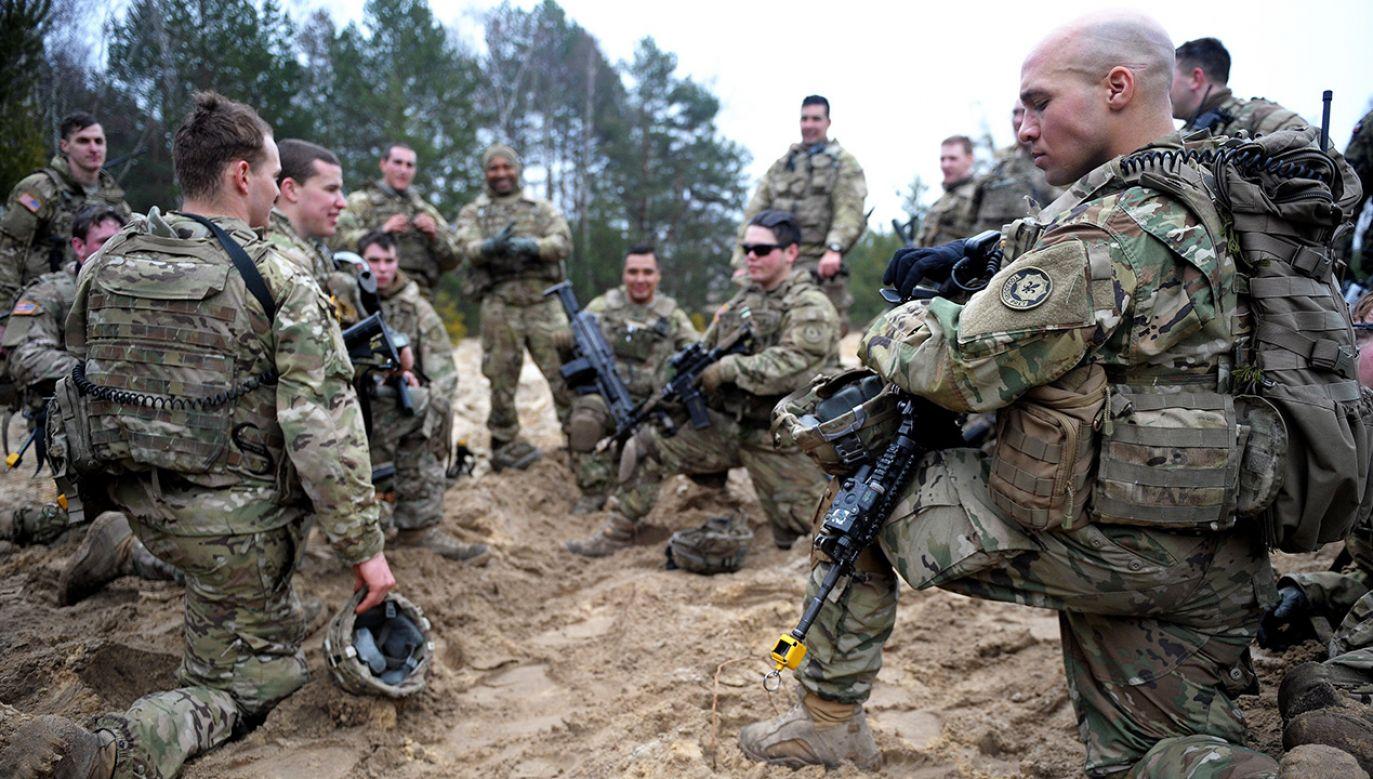 Obecność amerykańskich żołnierzy na terenie Polski jest od dłuższego czasu obiektem ataków (fot. arch. PAP/Darek Delmanowicz)