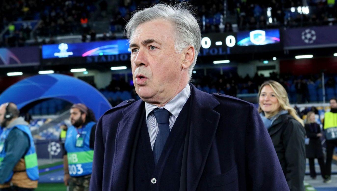 Carlo Ancelotti we wtorek po raz ostatni poprowadził Napoli (fot. Getty)