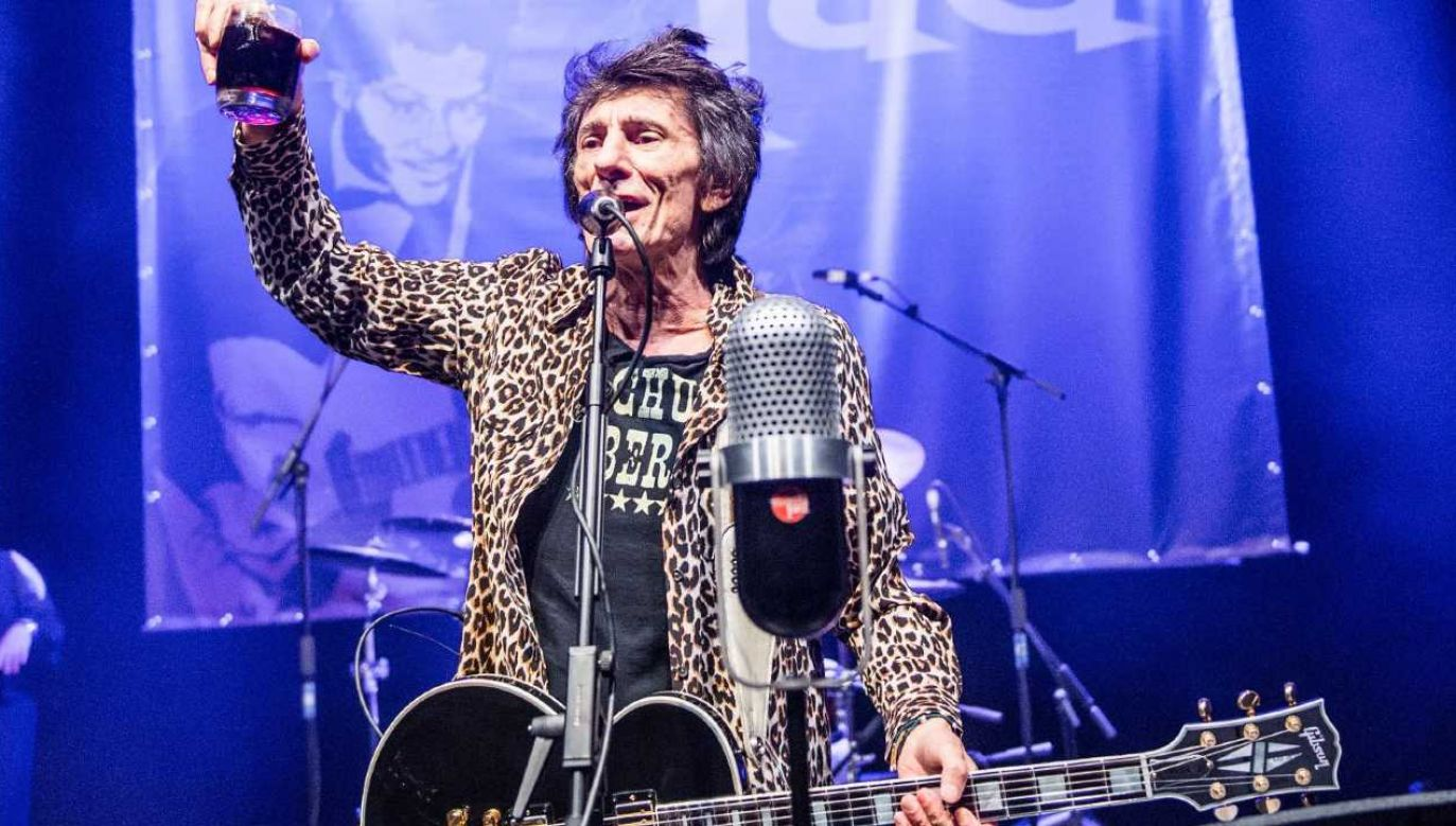 Ronnie Wood ma osobliwy gust (fot. FB/Ronnie Wood)