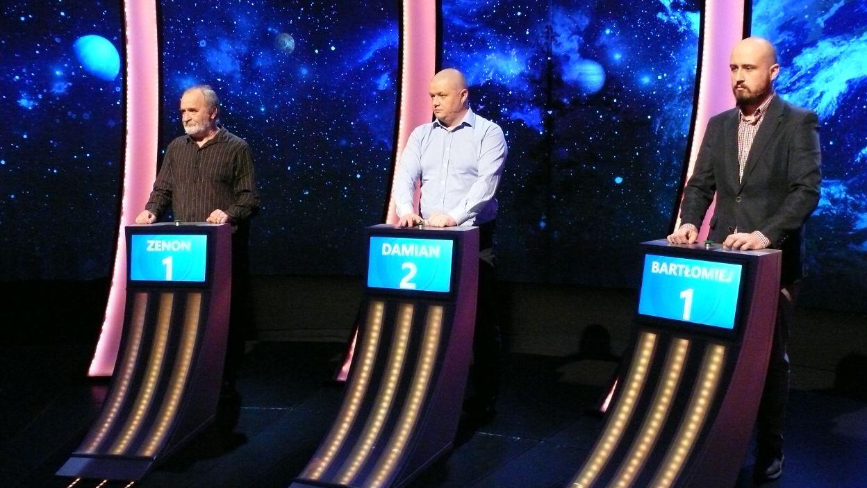 Finałowa trójka zawodników 20 odcink 116 edycji