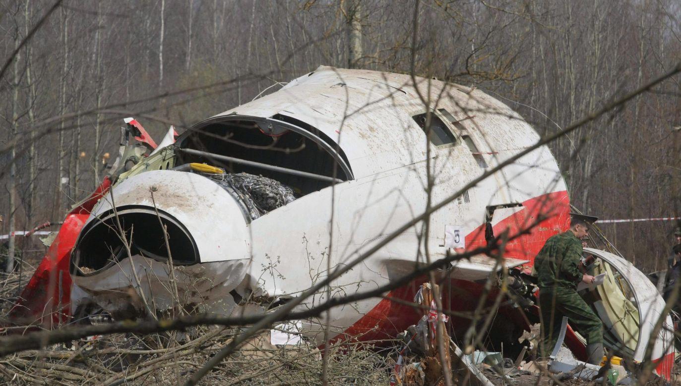 Tu-154 crash site. Photo: PAP/Sergei Chirkov