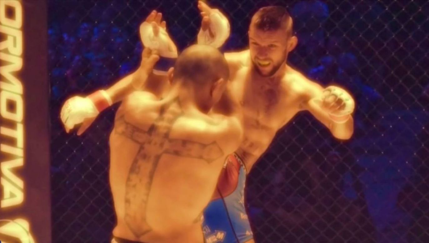 Mateusz Gamrot chce zdobyć pas federacji UFC (fot.)