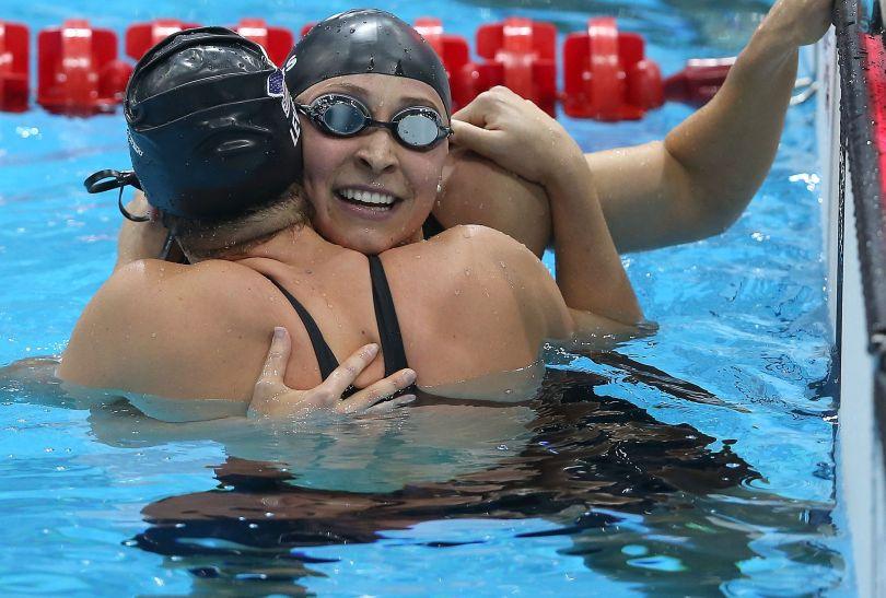 Caitlin Leverenz z USA zdobyła brąz w finale 200 metrów stylem zmiennym (fot. Getty Images)