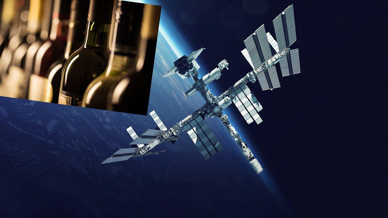Skrzynka wina spędziła 14 miesięcy na Międzynarodowej Stacji Kosmicznej (fot. Shutterstock)