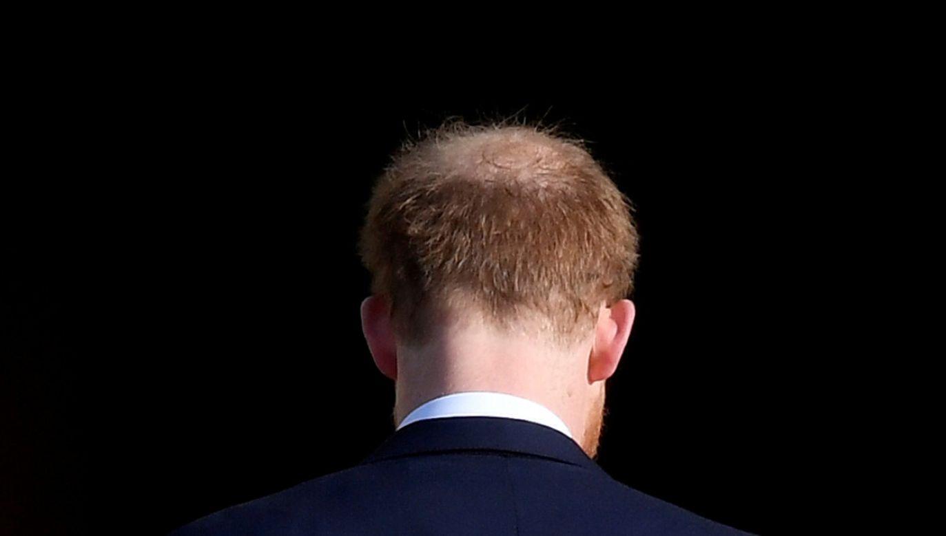 Harry z żoną nie będą uczestniczyli w żadnych przyszłych ceremoniach rodziny królewskiej (fot. REUTERS/Toby Melville TPX IMAGES OF THE DAY)