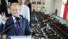Dzięki przyjętej przez rząd PO-PSL ustawie, aby wyprowadzić Polskę z UE, wystarczy zwykła większość głosów w sejmowym głosowaniu (fot.  PAP/ Wojciech Olkuśnik, Tomasz Gzell)