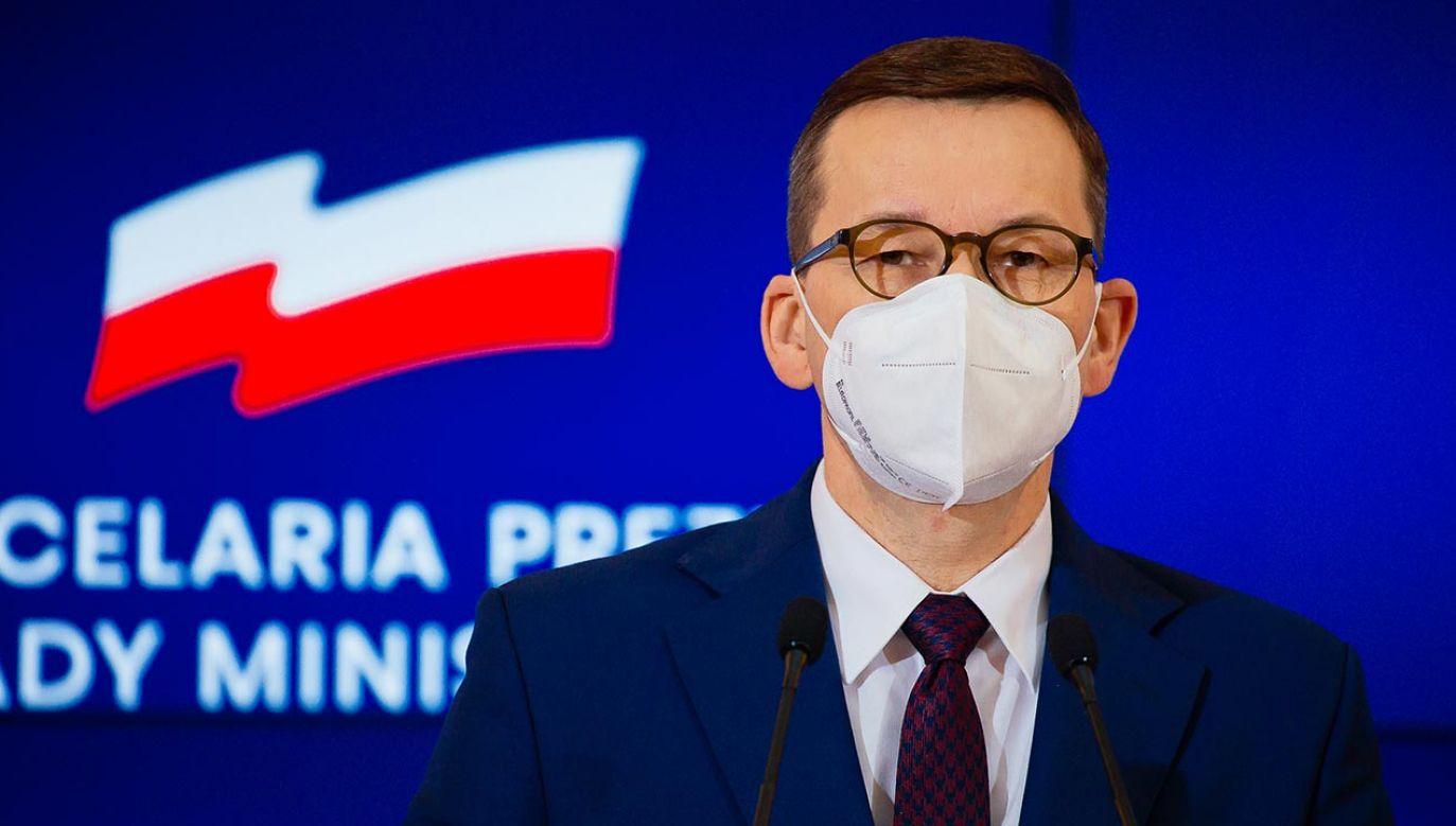 Do końca 2021 r. Polska ma zapewnione 85 mln dawek szczepionki (fot. Krystian Maj/KPRM)