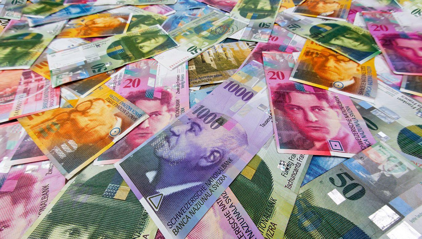 Polscy kredytobiorcy frankowi, co roku  tracą łącznie aż 11 mld złotych (fot. Wodicka/ullstein bild via Getty Images)