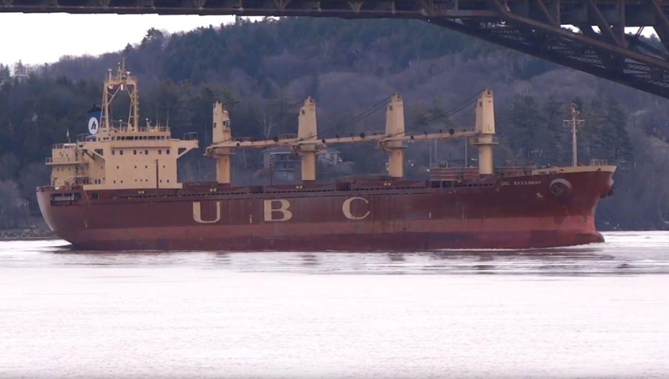 Przemyt narkotyków w ładowni UBC Savannah ujawnił kapitan (fot. YT/Jacques Trempe)