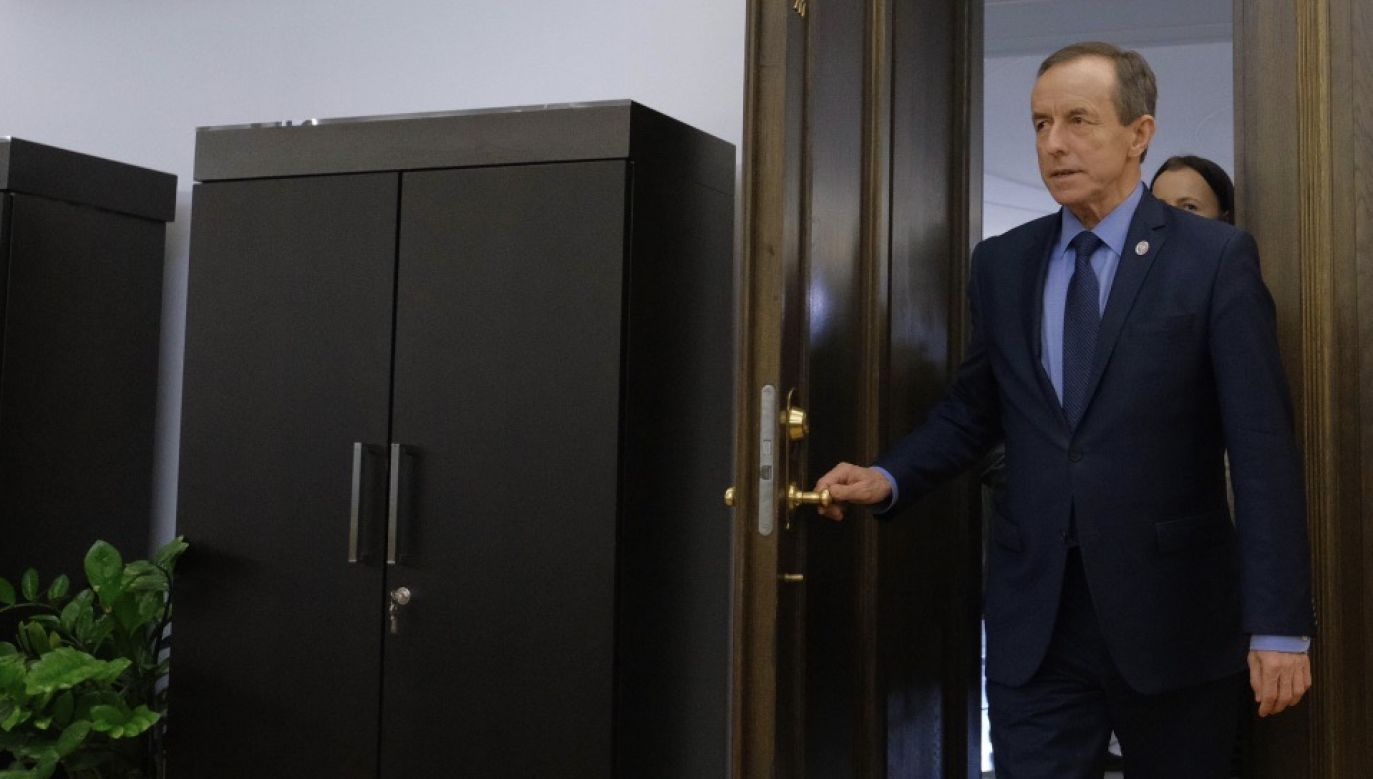 Na parlamentarnych korytarzach słychać, że marszałek Tomasz Grodzki może marzyć o tymczasowej prezydenturze (fot. PAP/Mateusz Marek)