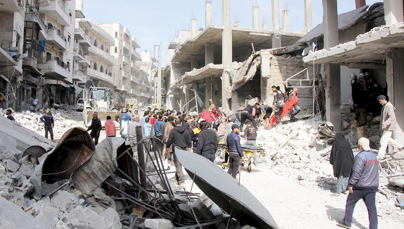Państwo Islamskie jest stroną wieloletniego konfliktu w Syrii (fot. Beraa Darvish/Anadolu Agency/Getty Images, zdjęcie ilustracyjne)
