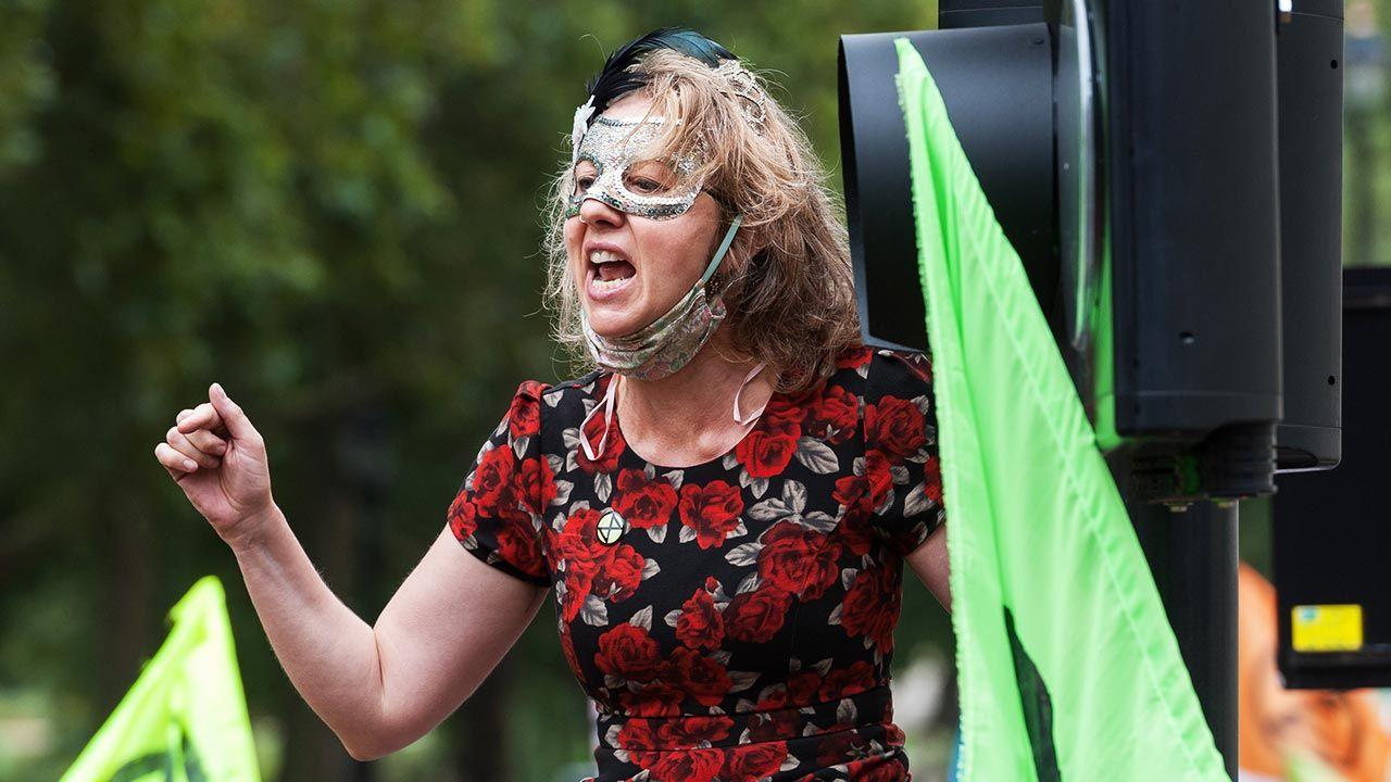 Gail Bradbrook (fot. Wiktor Szymanowicz/Barcroft Media via Getty Images)