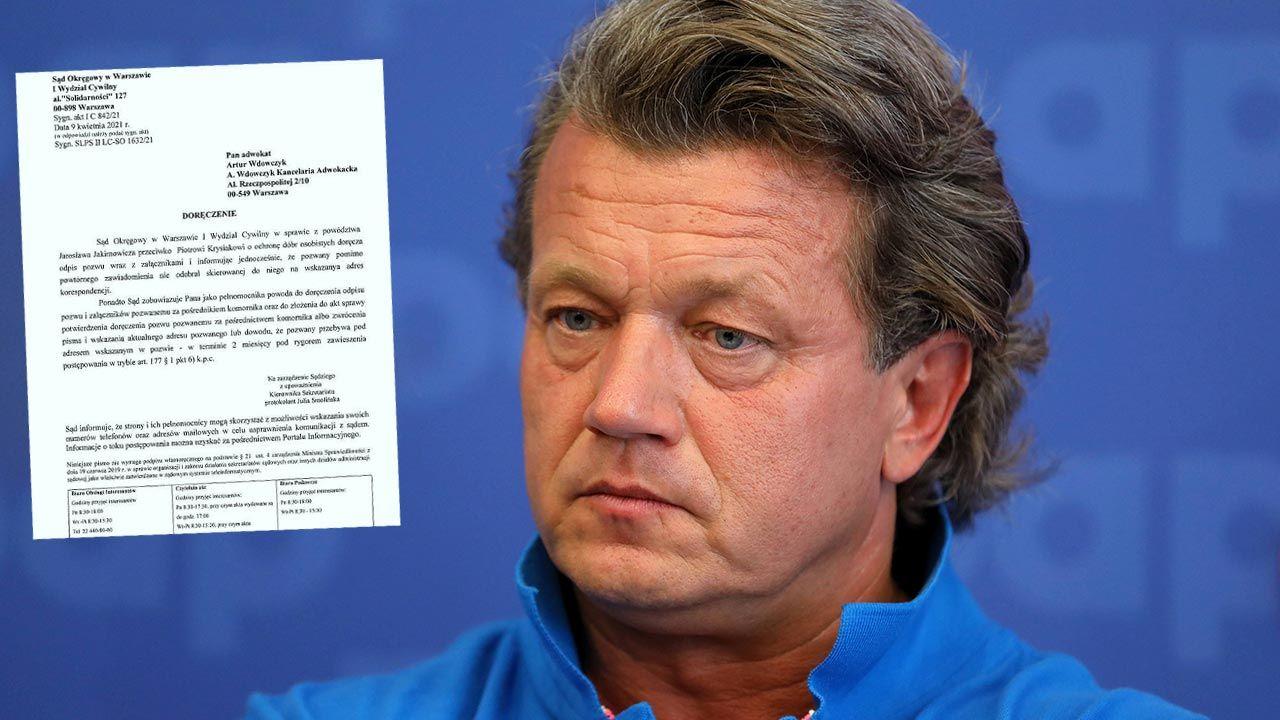 Co dalej z pozwem przeciwko Piotrowi Krysiakowi? Jarosław Jakimowicz zbulwersowany (fot. PAP/Rafał Guz)