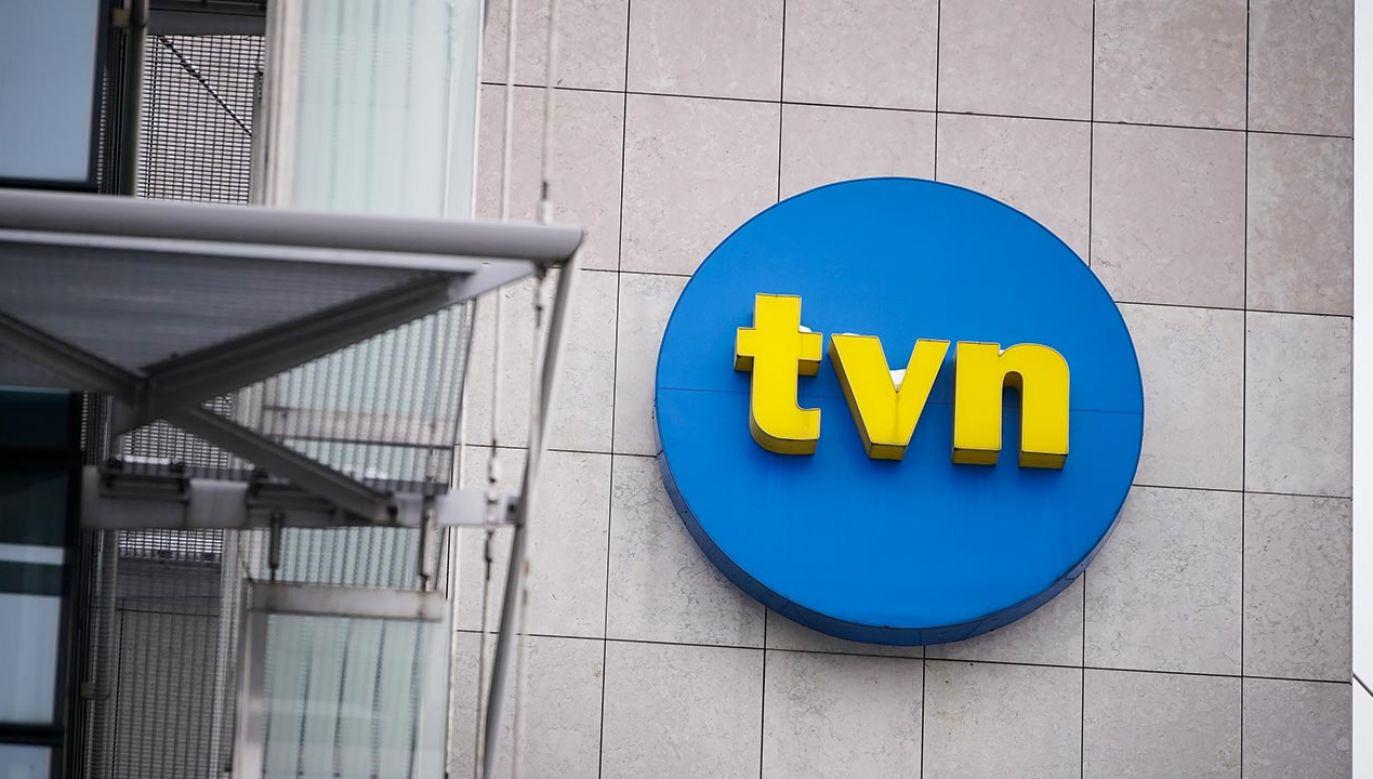 Kamil Różalski komentuje list otwarty pracowników TVN (fot. Forum/Mateusz Wlodarczyk)