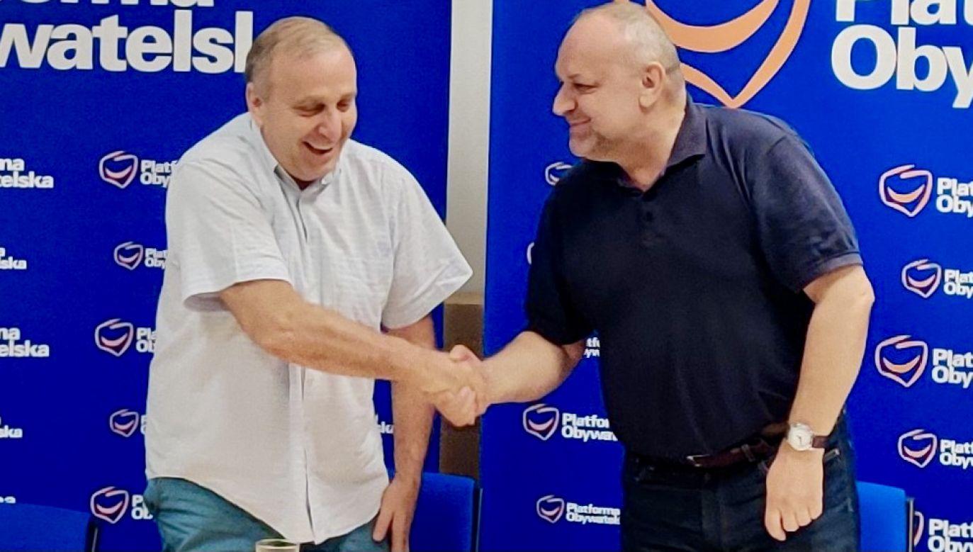 Jarosław Duda, dotychczasowy przewodniczący, zrezygnował z funkcji (fot. tt/@PO_Dolny_Slask)