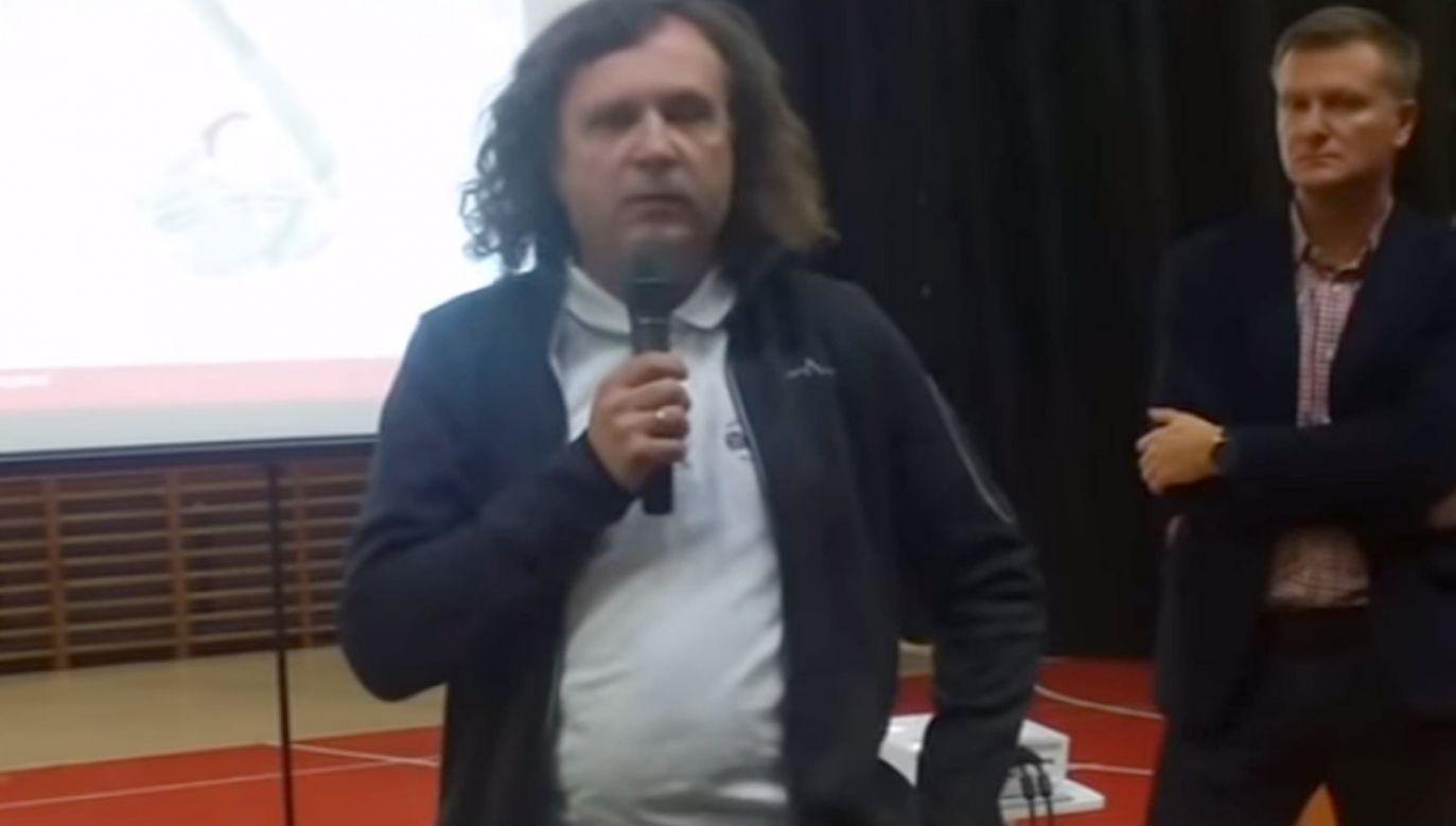 """Karnowski zarzucił TVP """"kłamstwa i napady"""" na Pawła Adamowicza (fot. yt/ Piotr Puchalski)"""
