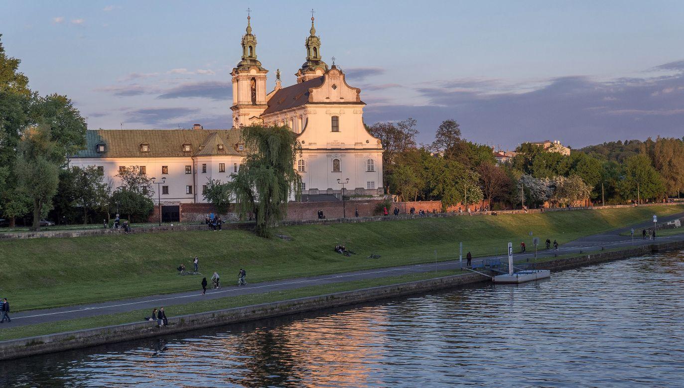 Zwłoki wyłowiono z Wisły w Krakowie (fot.arch.PAP/ Jerzy Ochoński)