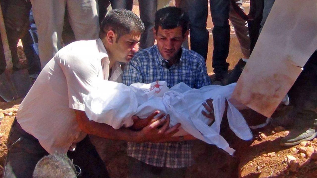 Aylan Kurdi został pochowany w Syrii (fot. PAP/ EPA DICLE NEWS AGENCY)