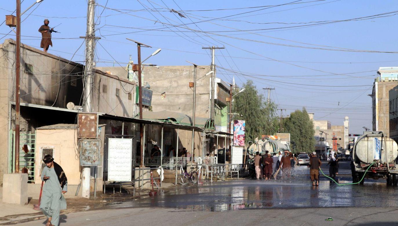 Ponad połowa Afgańczyków żyje na granicy ubóstwa (fot. PAP/EPA/Stringer, zdj. ilustr,)