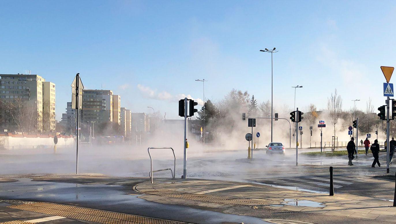 Spadło ciśnienie w sieci ciepłowniczej w całej Warszawie  (fot. Twoje Info)