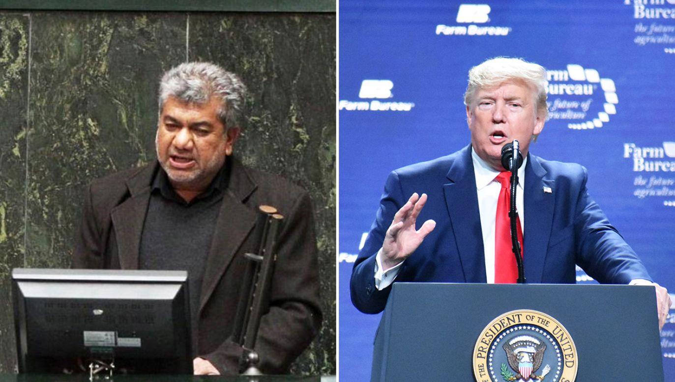 Stany Zjednoczone i ich zachodni sojusznicy oskarżają Iran o prace nad budową broni jądrowej (fot. PAP/EPA/ICANA NEWS AGENCY HANDOUT; Kyle Mazza/Anadolu Agency via Getty Images)