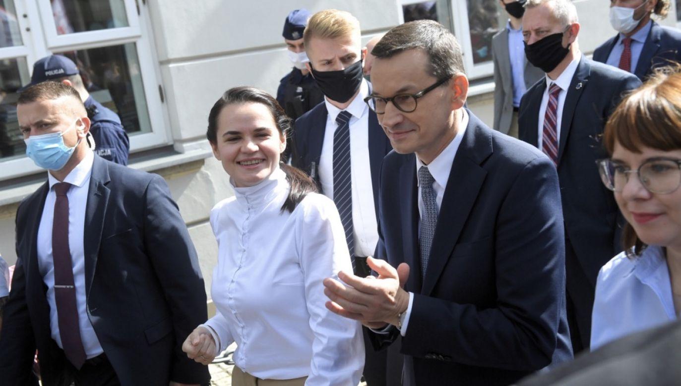 Decyzja mogła zapaść po wcześniejszych rozmowach z premierem Morawieckim (fot. PAP/Radek Pietruszka)