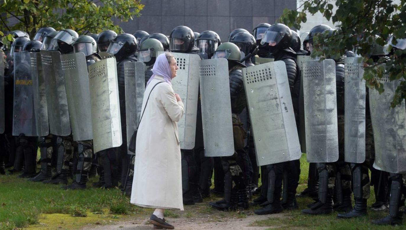 Protesty przeciw władzom nie ustają (fot.PAP/EPA/STRINGER)