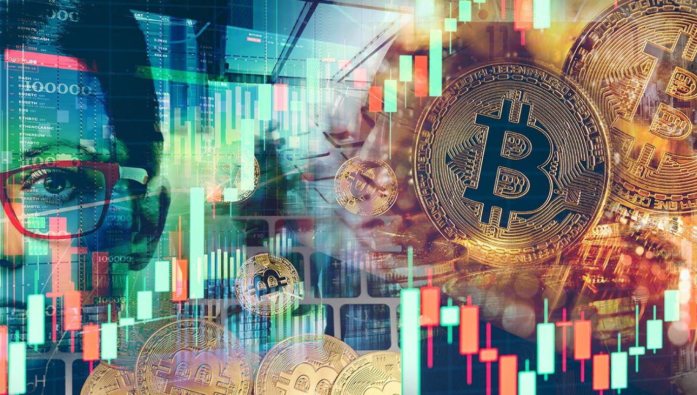 Na rynku kryptowalut dominują spadki (fot. Shutterstock)