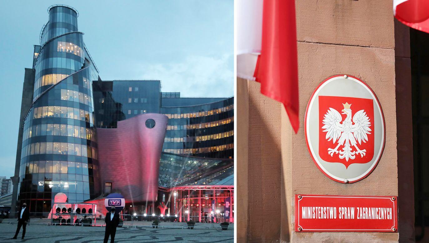 Promocja Polski za granicą dzięki współpracy TVP i MSZ (fot. PAP/Wojciech Olkuśnik; Tomasz Gzell)