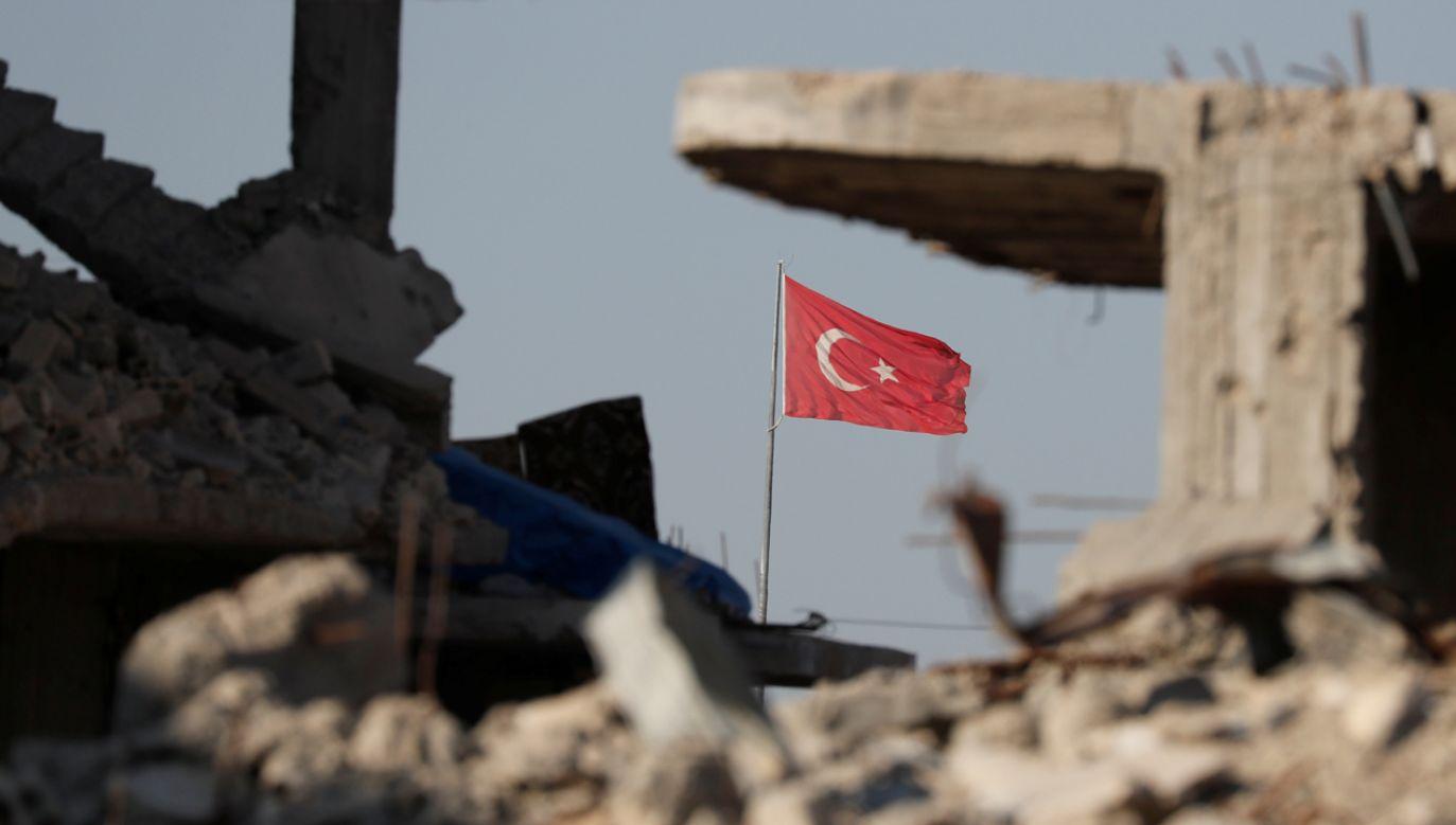 Siły zbrojne Turcji rozpoczęły w środę atak na północno-wschodnią Syrię (fot. REUTERS/Erik De Castro)
