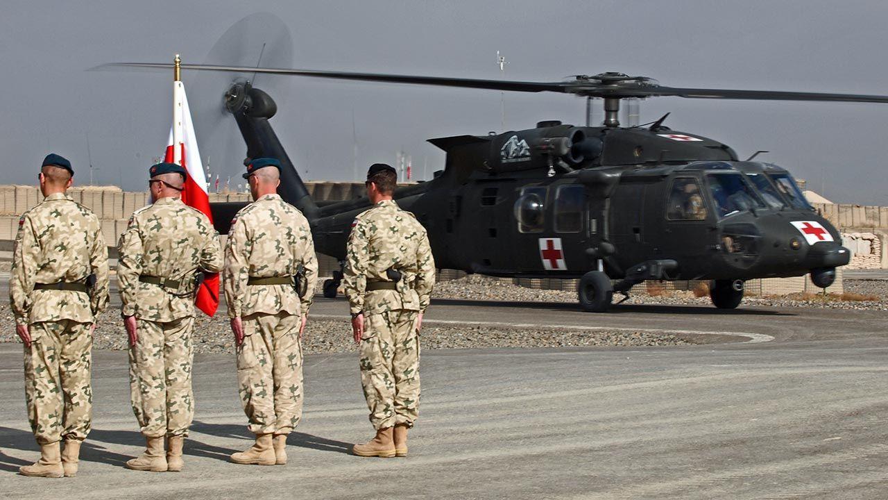 Udział Polski w wojnie w Afganistanie motywowany był dwoma celami (fot. Forum/Janusz Walczak)