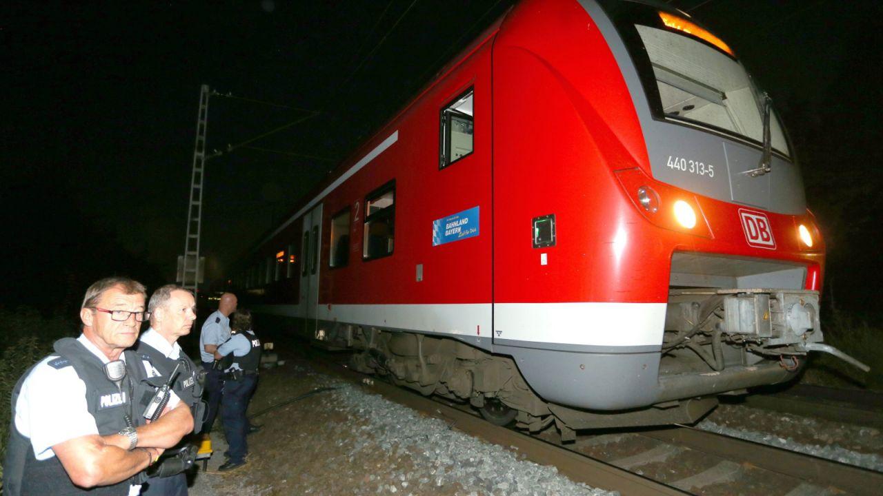 Do ataku doszło w niemieckim Wuerzburgu (fot.  PAP/EPA/KARL-JOSEF HILDENBRAND)
