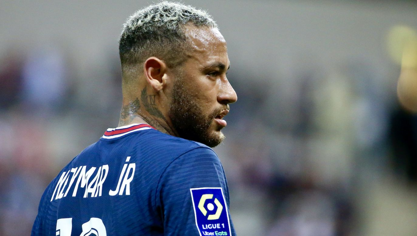 Brazylijski piłkarz Neymar, grający w klubie Paris Saint-Germain (fot. John Berry/Getty Images)