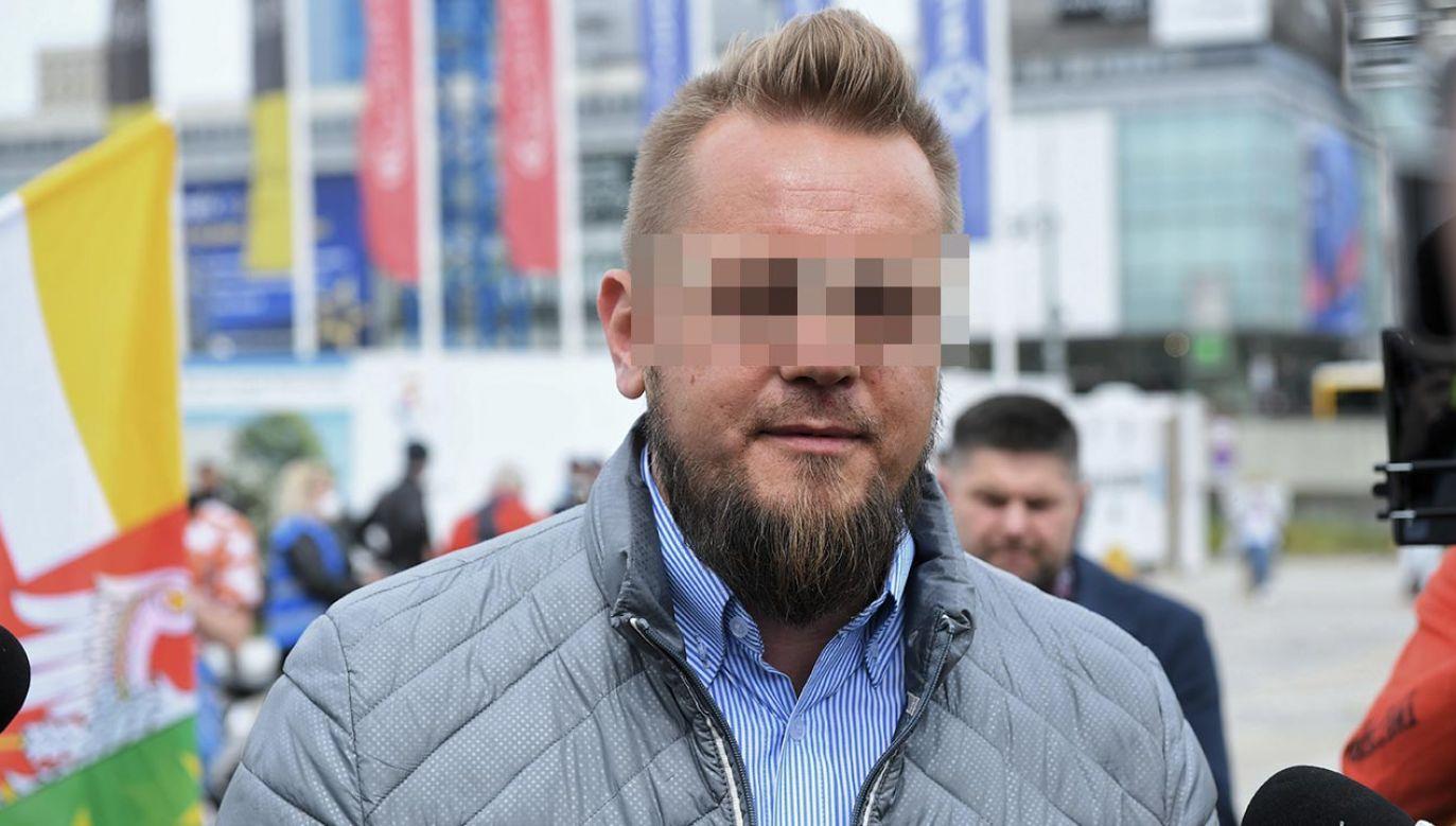 To lider tzw. strajku przedsiębiorców (fot. PAP/Radek Pietruszka)