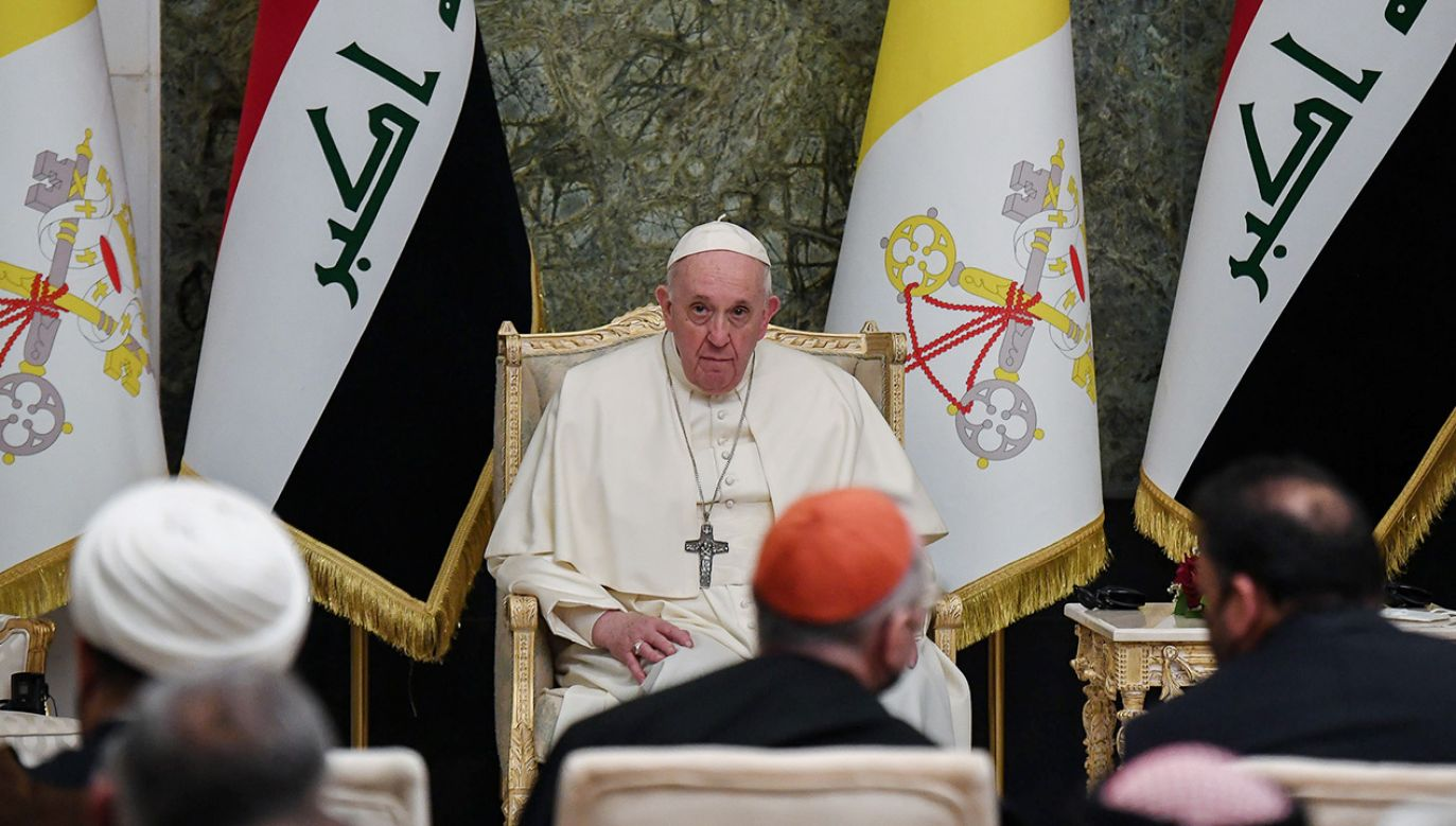 Wizyta papieża w Iraku (fot. PAP/EPA/ALESSANDRO DI MEO)