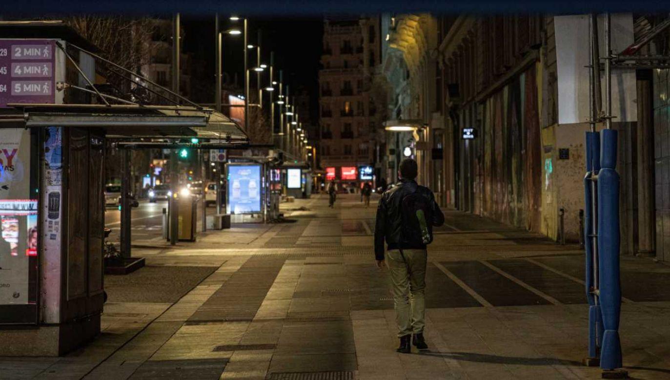 Hiszpania ma najwyższe bezrobocie wśród młodzieży w UE (fot. PAP/EPA/RODRIGO JIMENEZ)