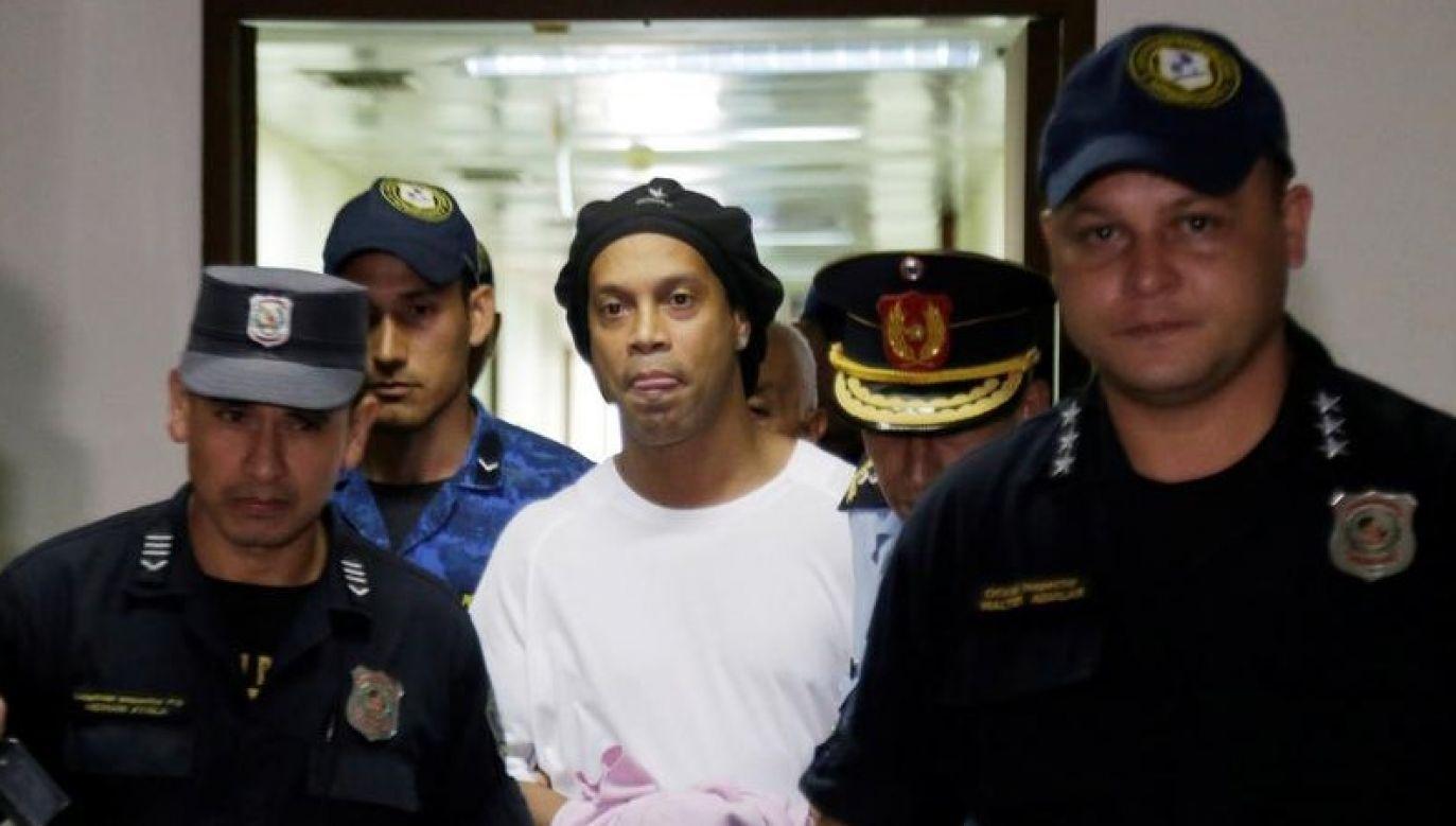 Zamknięty w pojedynczej celi, nie mógł przyjąć gości z powodu procedur związanych z kwarantanną (fot. REUTERS/Jorge Adorno)