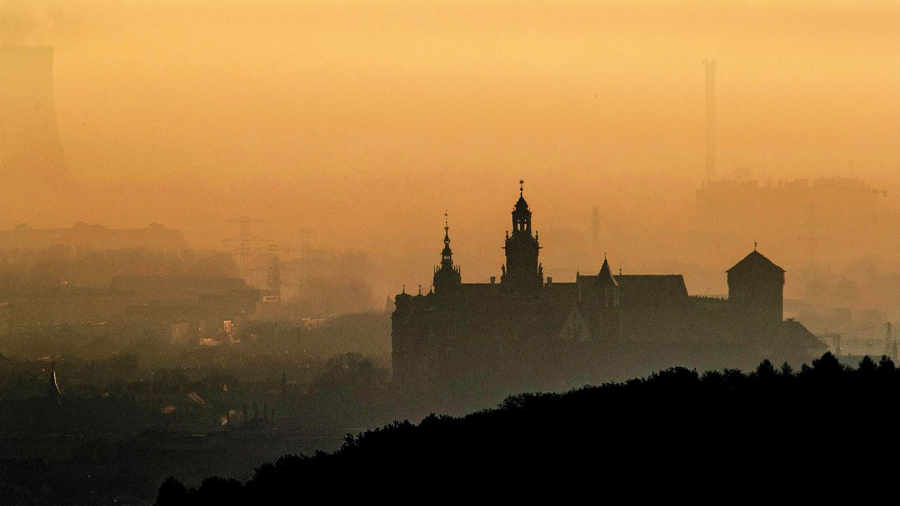 Pył PM 10 składa się z mieszaniny cząstek zawieszonych w powietrzu (fot.  arch. PAP/Łukasz Gągulski)