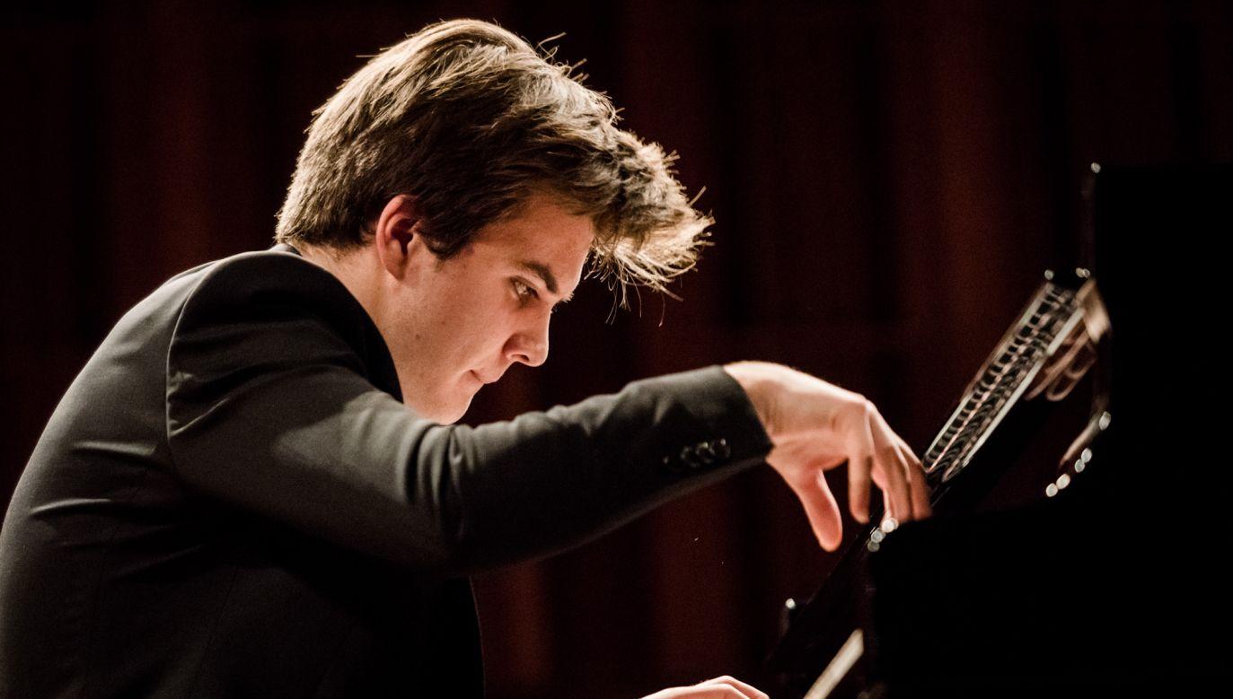 Piotr Alexewicz zajął I miejsce w Ogólnopolskim Konkursie Pianistycznym im. Fryderyka Chopina (fot. Facebook/Narodowy Instytut Fryderyka Chopina)