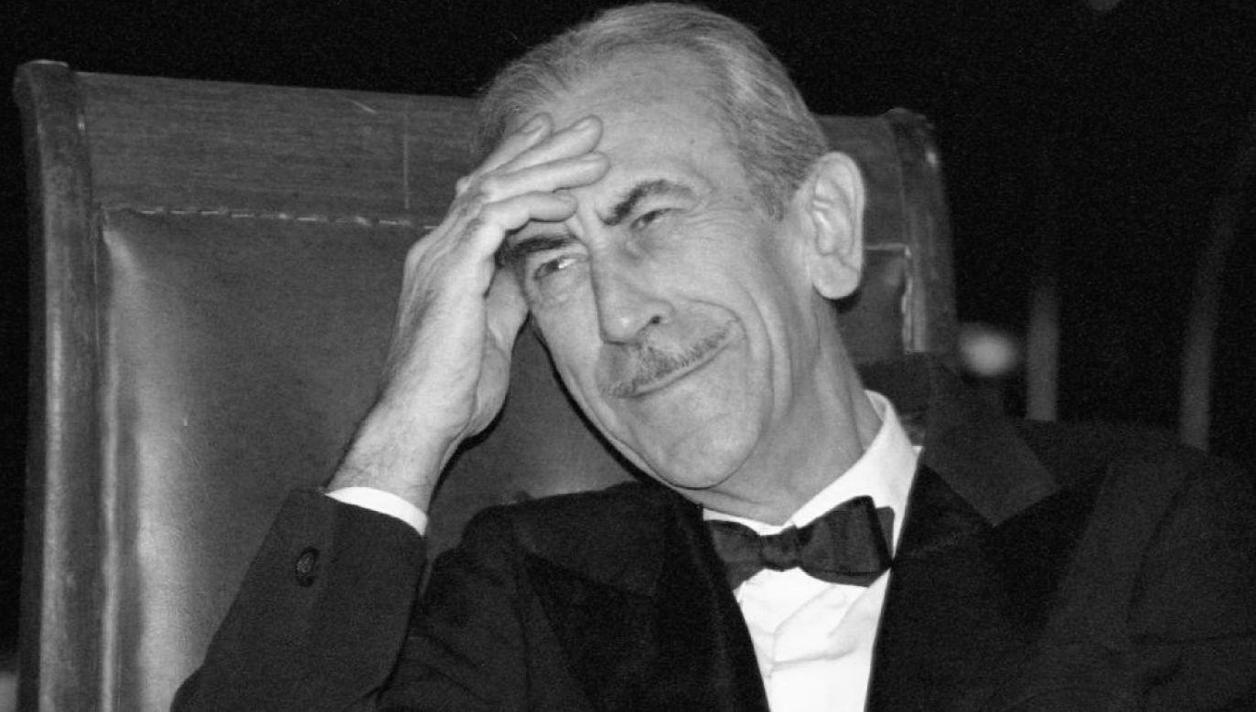 Aktor miał 85 lat (fot. arch. TVP)