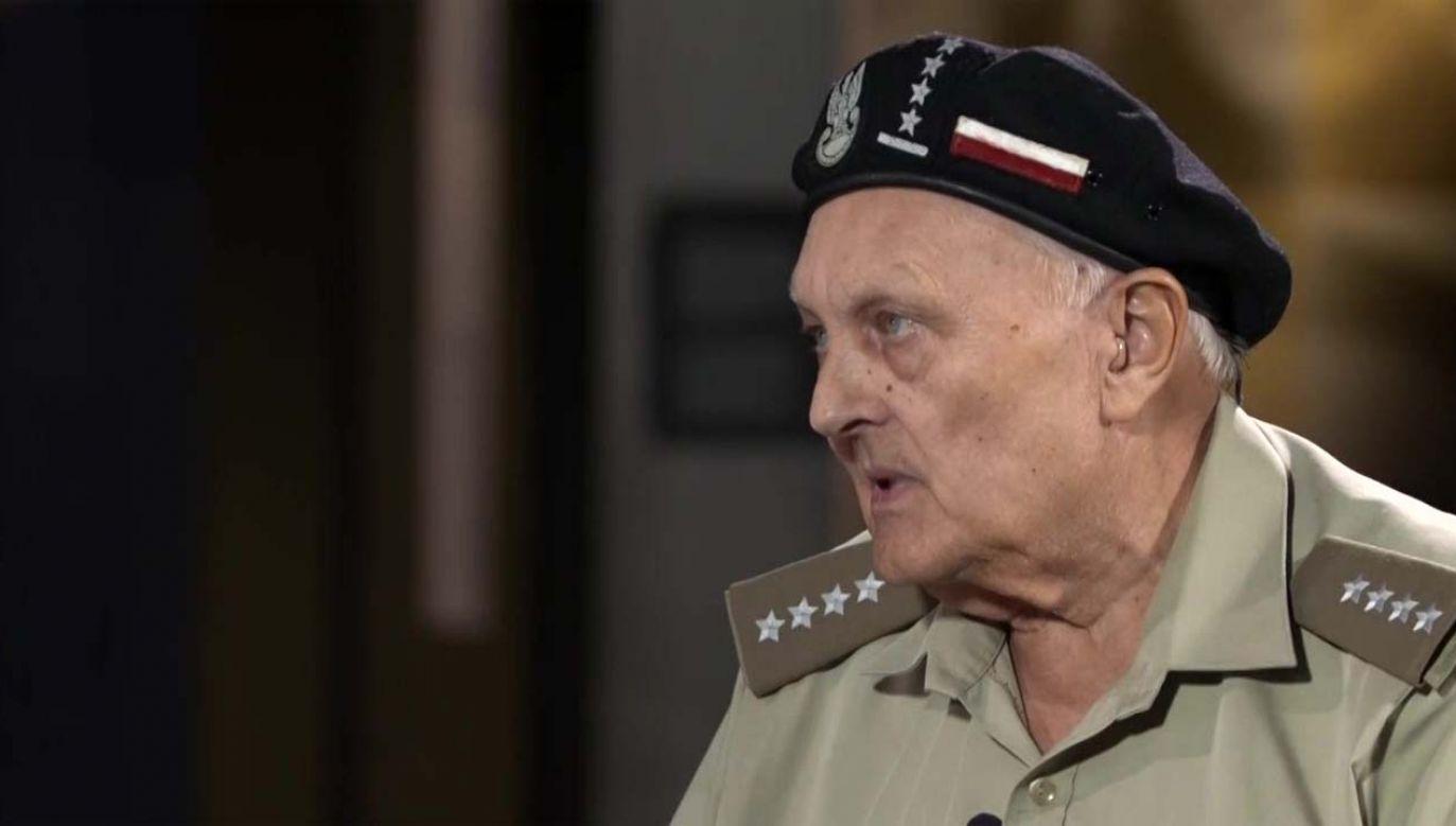 Janusz Walendzik pseudonim Czarny (fot. TVP1)