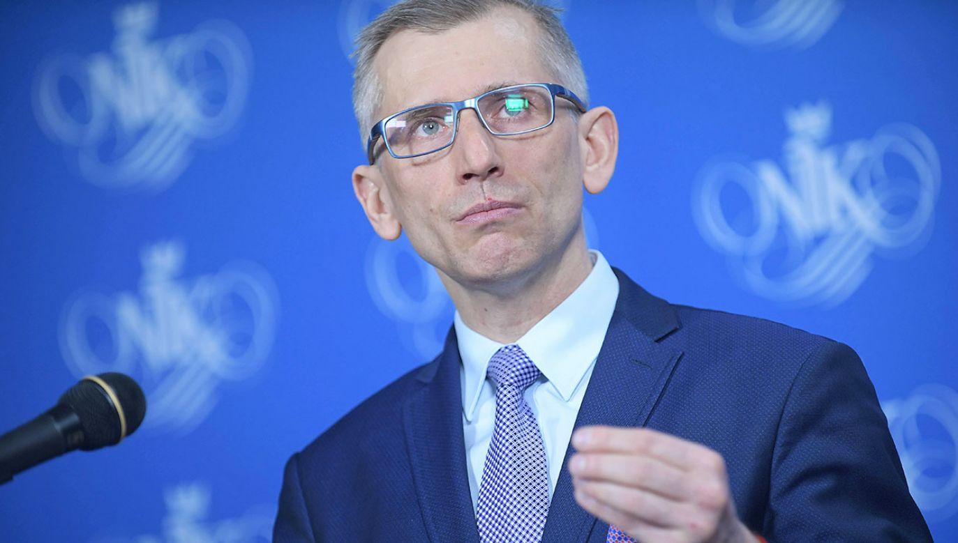 Krzysztof Kwiatkowski złożył rezygnację z kierowania NIK i zapowiedział start w wyborach do Senatu (fot. arch.PAP/Marcin Obara)