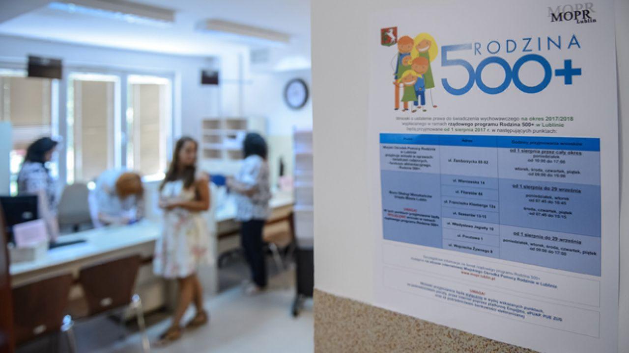 W czerwcu uprawnionych do pobierania 500 plus było 3,9 mln dzieci (fot. PAP/Wojciech Pacewicz)