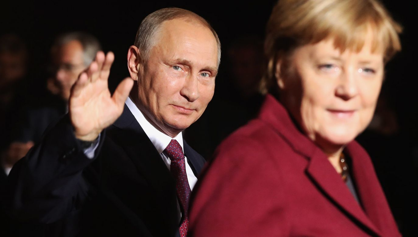 Niemcy współpracując z Rosją osłabiają unijną solidarność (fot. Sean Gallup/Getty Images)