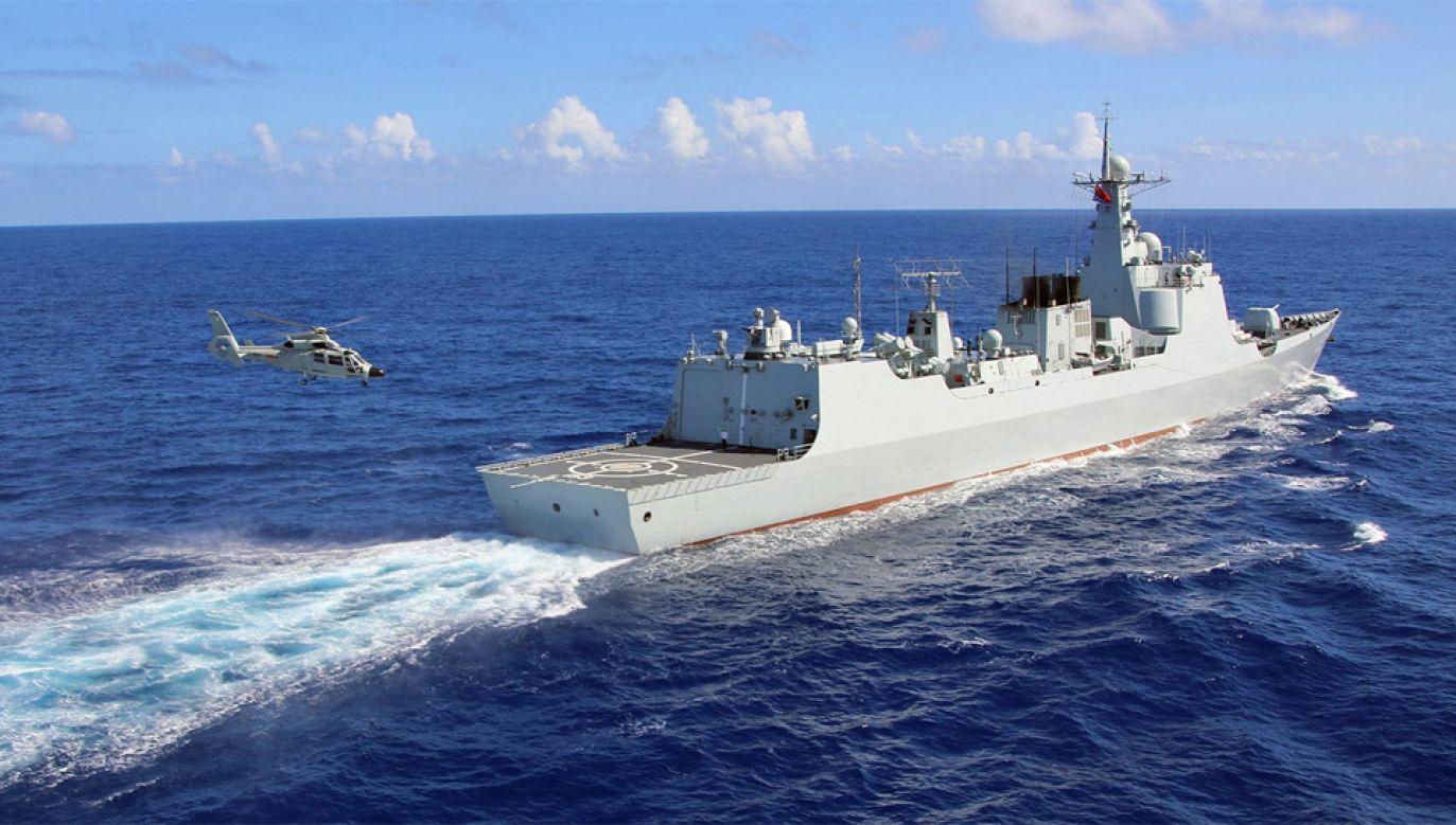 Chiny chcą przejąć kontrolę nad Morzem Południowochińskim (fot. Wiki)
