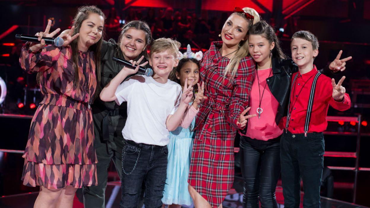Cleo wybrała sześcioro młodych wokalistów, ale miejsca są tylko trzy. Kto wyśpiewał sobie dalszy udział? (fot. J. Bogacz/TVP)