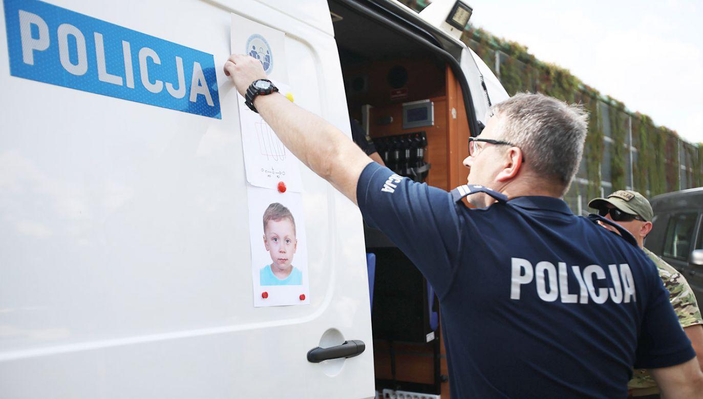 Dawid Żukowski poszukiwany jest od 11 lipca (fot. PAP/Leszek Szymański)