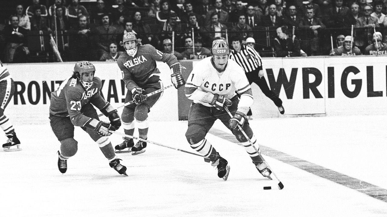 45 lat temu polscy hokeiści wygrali z mistrzami świata (fot. PAP/CAF/Seko)