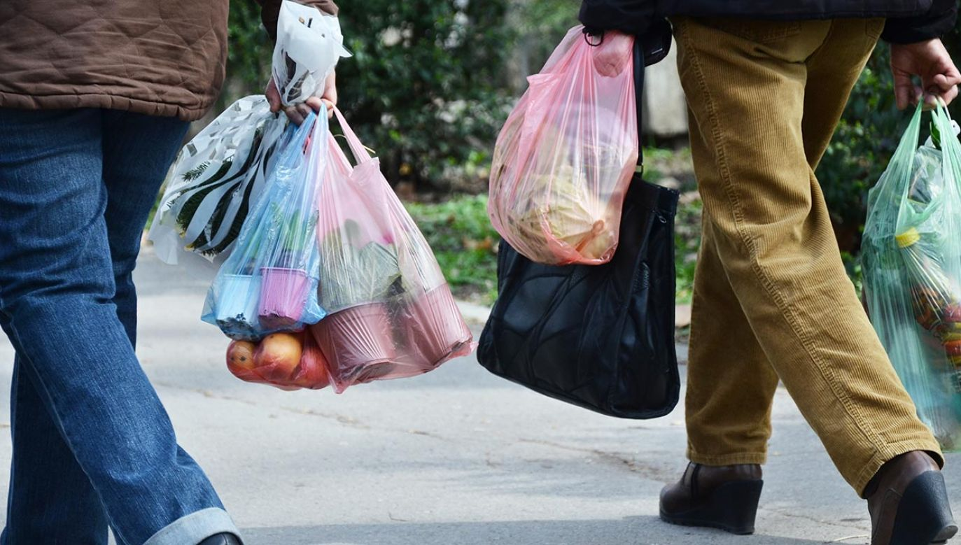 Eksperci zalecają torby jednorazowe w czasie pandemii (fot. Shutterstock/ Emilija Miljkovic)